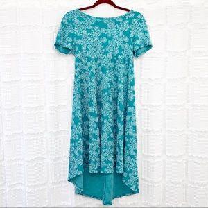 Lularoe floral print carly dress XXS
